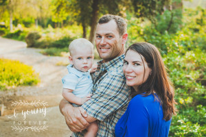 Summer love and a boy who's 1 {Redlands Family Photographer}